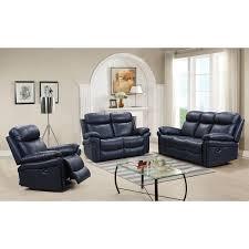 Blue Reclining Sofa by Leather Italia Usa 1555 E2117 031041lv Joplin Power Reclining Sofa