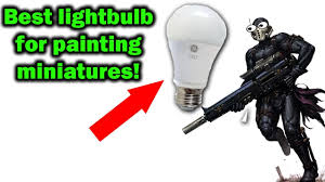 the best lighting for miniature painting youtube