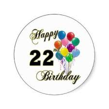25th birthday card quotes quotesgram happy 22nd birthday quotes quotesgram 22nd bday