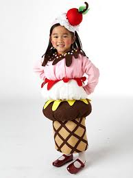 Childrens Halloween Costumes Ice Cream Cone Kid Halloween Costume Ice Cream Cones Diy Ice