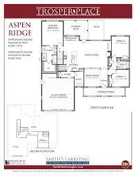 Aspen Heights Floor Plan by Trosper Place