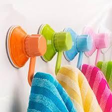 haken badezimmer logei 6st bunte saugnäpfe wandhaken saugheber saughaken saugkraft