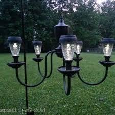 Solar Outdoor Light Fixtures by Best 25 Solar Light Chandelier Ideas On Pinterest Solar Powered