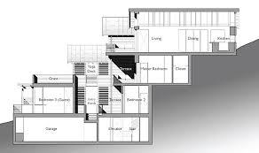 hillside home plans house plans for homes built into hillsides homeca
