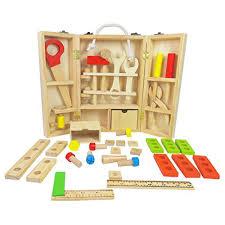 wood carpenter set work bench wooden workshop tool storage