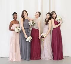 mix match bridesmaid dresses unique mix and match bridesmaid dresses bhldn