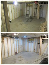 framing u0026 lighting for a bright u0026 beautiful basement renovation