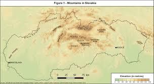 Slovakia Map Mountain Cooperatives In Slovakia