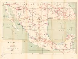The Map Of Mexico by