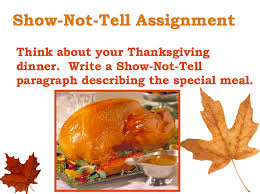Paragraph About Thanksgiving 3 6 Free Resources November 2012