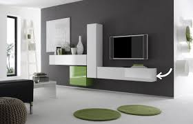 wall tv unit colored glossy white horizontal or vertical wall tv unit miliboo
