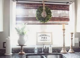 Kitchen Sink Curtain Ideas Impressive Window Treatments For Kitchen Kitchen Window Treatment