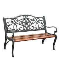Cast Iron Loveseat Look What I Found On Zulily Texas Star Cast Iron Kids Bench
