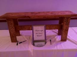 sweet 16 sign in book wedding bench guest book thedjservice albany ny wedding dj