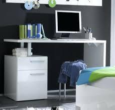 bureau enfant moderne bureau enfant moderne bureau blanc laquac 1 porte 2 tiroirs lys