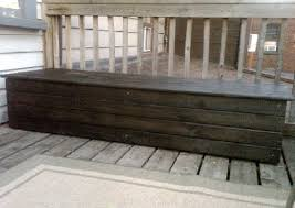 Plans To Build Outdoor Storage Bench by Ideas Wood Working