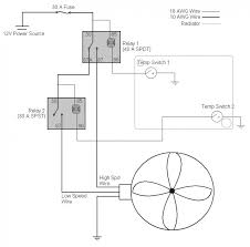 4 wire diagram radiator fan relay wiring wiring diagram simonand