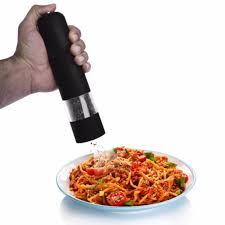 electric salt pepper mill grinder with light 2018 electric herb spice salt pepper mills grinder with led light