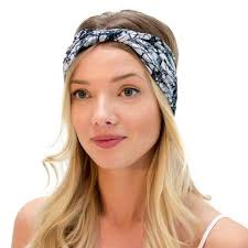 beautiful black headbands for women black sports headband by kooshoo