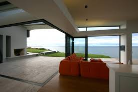 interior of apartments with a beautiful view of the beach home