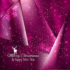 Tyrian Purple Merry Christmas And Happy New Year Tyrian Purple Background