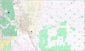 Colorado County Maps by Bridgehunter Com El Paso County Colorado