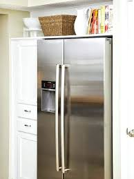 space between top of refrigerator and cabinet space between top of refrigerator and cabinet how to maximize the