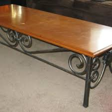Wrought Iron Sofa Tables by 239 Best Hand Forged Iron Tables Images On Pinterest Iron Metal