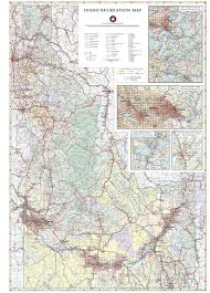 Idaho Zip Code Map by Idaho Recreation Map Benchmark Maps Idaho Benchmark Maps
