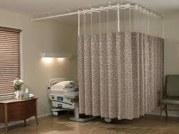 Side Curtains Various Benefits Of Hospital Curtain Track Curtain Bay Window
