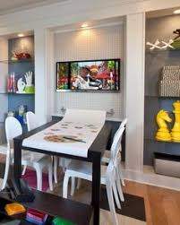 fun ideas for extra room room design ideas love the bookshelves and the big map in this room getting a few