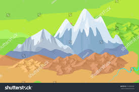 Kunlun Mountains Map Asia Mountains On Map Significant Mountain Stock Vector 512568322