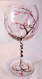 beautiful wine glasses beautiful painted wine glass diy ideas s i think i might can