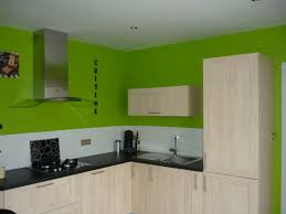 cuisine vert et gris peinture cuisine et combinaisons de couleurs