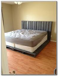 Making A Platform Bed From Pallets by 15 Best Bed Frame Ideas Images On Pinterest Pallet Bed Frames