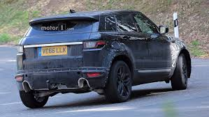 range rover evoque blue range rover evoque test mule spotted on the street