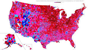 Map Of Pennsylvania Colleges by 2016 Electoral Map Trump Clinton Vote By Precinct Business Insider
