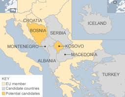 Where Is Greece On The Map by Eu Enlargement The Next Seven Bbc News