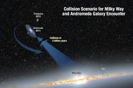 How Many Years In A Light Year Nasa Nasa U0027s Hubble Shows Milky Way Is Destined For Head On Collision
