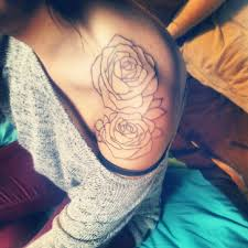 tattoos for women on shoulder rose shoulder tattoo designs ideas and meaning tattoos for you