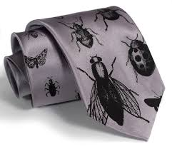 halloween neckties insect necktie men u0027s bug tie black silkscreen print off