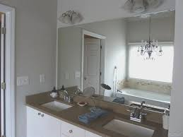 Bathroom Frameless Mirrors Bathroom View Frameless Mirror For Bathroom Home Design Image
