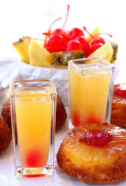 pineapple upside down shots mantitlement