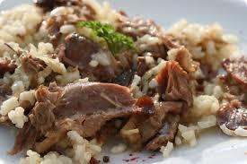 cuisiner confit de canard risotto au canard confit du périgord cuisine guylaine