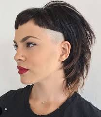 bi layer haircuts over the ears corner shaved layered haircut quiffs tips pinterest