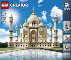 lego relaunches its beloved taj mahal model with almost 6 000