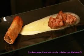 cuisiner ris de veau recette ris de veau croustillant nem de cèpes et sauce à la