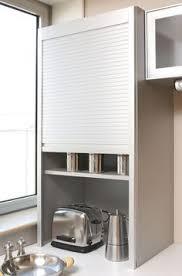 meuble rideau cuisine meuble rideau cuisine petit déjeuner coulissant volet aluminium l60