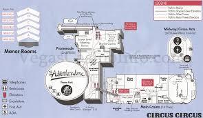 Las Vegas Casino Floor Plans Circus Circus Hotel And Casino Las Vegas Nv Snap Map