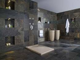 slate bathroom ideas slate tile bathroom flooring option new basement ideas throughout